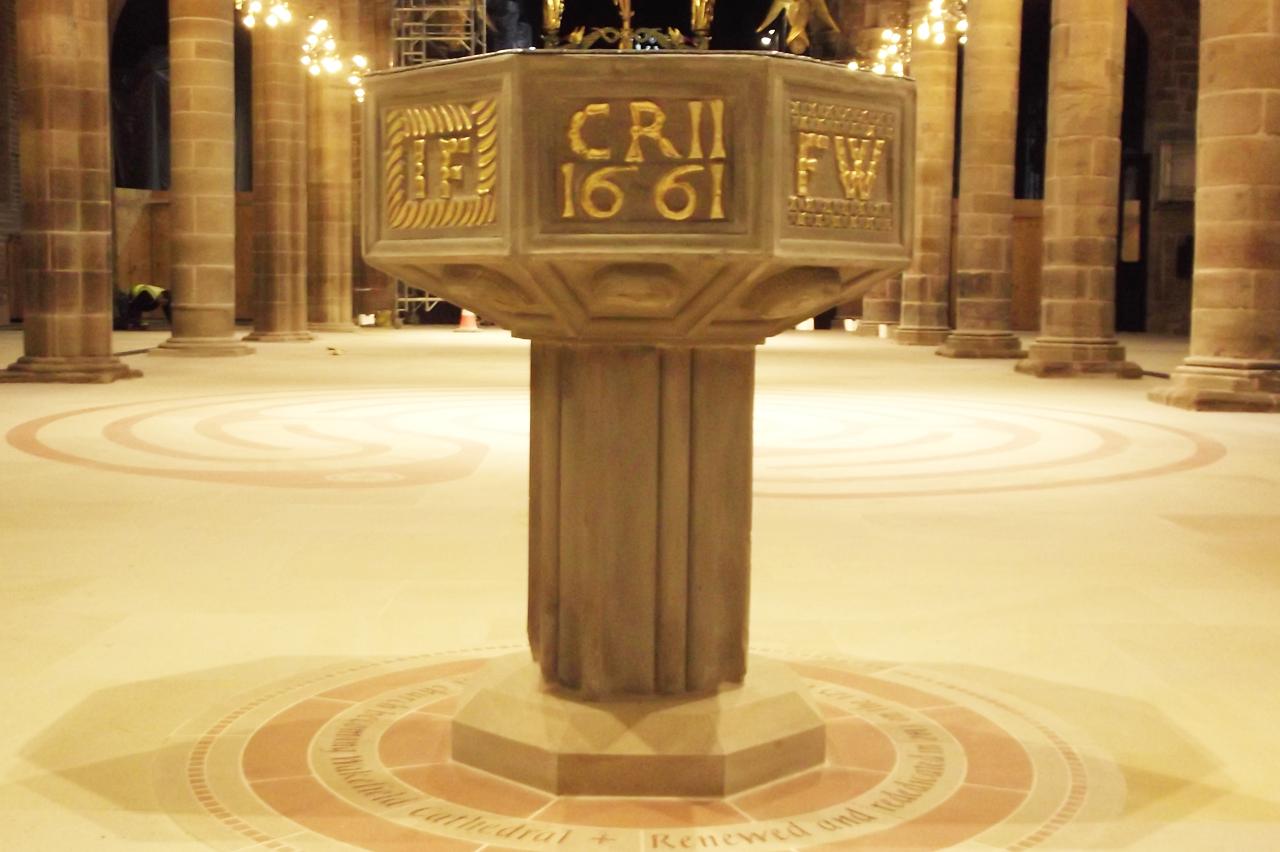Church-font