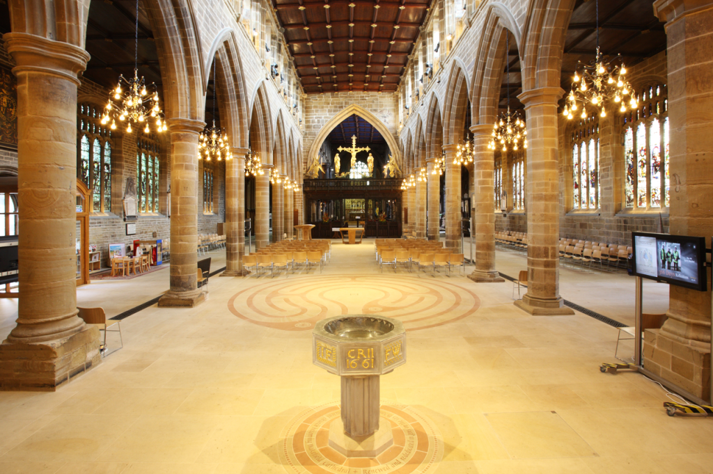 Wakefield Cathederal Floor